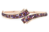 A215-79232: BANGLE 3.12 MULTI-COLOR 3.30 TGW (AMY,GT,PT)