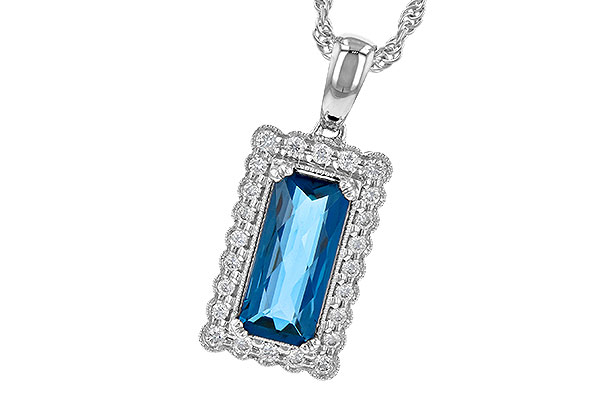 D217-61923: NECK 1.55 LONDON BLUE TOPAZ 1.70 TGW