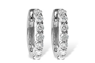 F028-48286: EARRINGS 1.00 CT TW
