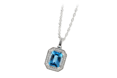 G214-84659: NECK 1.75 BLUE TOPAZ 1.86 TGW