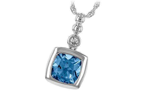 L216-68313: NECK 1.45 BLUE TOPAZ 1.49 TGW