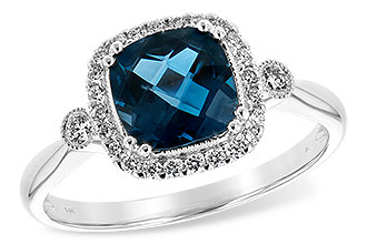 M216-64659: LDS RG 1.62 LONDON BLUE TOPAZ 1.78 TGW
